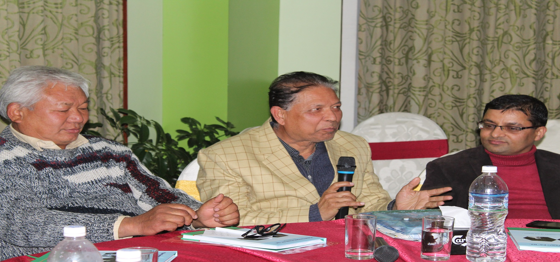 Interaction and Discussion Program among Team Leaders
